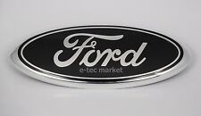 FORD F-150 2005-2014 BLACK OVAL FRONT GRILLE 9 INCH LOGO