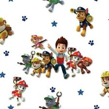 Debona Official Paw Patrol Puppy Chase Skye Childrens Kids Fun Wallpaper