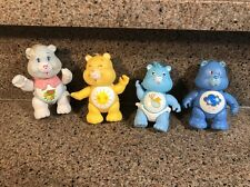 Vintage 80's Care Bear Figure Lot of 4