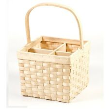 Bottle Carrier 4 steamed Willow VIMINI latte titolare Vine bere CESTO Trendy KB16