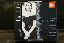 G. Verdi - La Traviata / Callas/Ghione    2 CD-Box