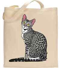 Egipcio Mau Gato Amante Bolso carteras Mascota Gato Animal Animación Arte Gráfico Fiesta Regalo