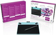 NUOVO! FUMETTO Wacom Intuos Pen Small Blu & Touch Digitale Grafica Tablet PC e Mac