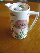 Pountney's Bristol England Handpainted Lidded Jug or Pot Signed!