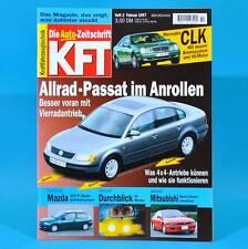 KfT Kraftfahrzeugtechnik 2/1997 Mercedes CLK Mazda 323 P Honda Prelude Maybach