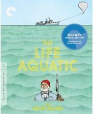 Life Aquatic With Steve Zissou [Criterion Collection] (2014, Blu-ray NEUF)