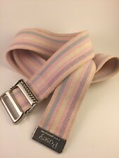 "Posey Restraint Belt Strap 2""x54"" Stripes Pink"