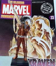 Classic Marvel Figurine Collection KRAVEN   ISSUE 23  EAGLEMOSS RARE SALE!!!
