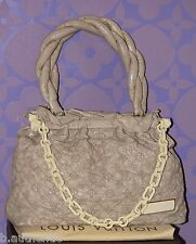 Louis Vuitton Monogram Olympe Stratus GM Ecru Beige Leather Tote *Limited* $4K+!