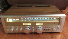 Vintage Sansui G-2000 Stereo Receiver Silver Face/Wood Case - serviced.