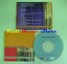 CD MUSIC NATURE TERRA NOVA compilation 2007 BRIAN ENO CHRIS HUGHES (C25) no mc
