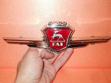 Radiator Grill Hood Emblem Badge Ornament USSR Soviet Car GAZ 21  Volga