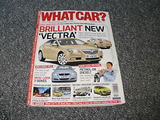 WHAT CAR ?   MAGAZINE  SEPTEMBER     2008    ENGLISH MONTHLY