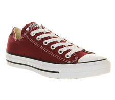 Original Adult Unisex Converse Shoe All Star Ox Canvas Black/Navy/Maroon 3 to 10