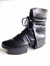TRIPPEN Germany Women's Runway Platform BOX Boot LAYERS black EU36.5 US6 UK3.5-4