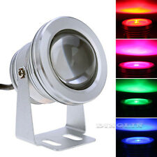 12V LED RGB Underwater Spotlight Colorful With Remote Control Outdoor Spot Light