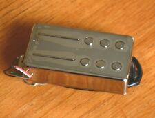 CHROME COVER HOT RAILHAMMER ANVIL HUMBUCKER BRIDGE PICKUP High Output Guitar