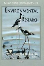 New Developments in Environmental Research