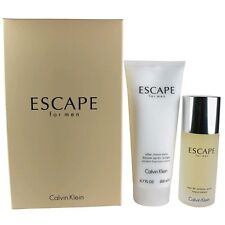 Escape Cologne by Calvin Klein, 2 Piece Gift Set for Men NEW