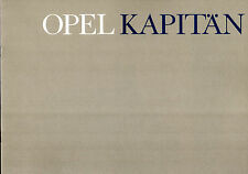 Opel Kapitan 1964-65 Belgian Market Sales Brochure In French & Flemish
