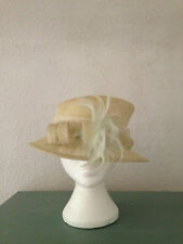 Wedding hat,Pale green, Mother of the bride, Races, Ascot hat, Stylish chic