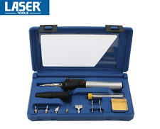 LASER 11 Pce Cordless GAS Soldering/Solder/Welding/Brazing Iron Hot Air Kit 3753