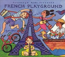 PUTUMAYO  French Playground by Various Artists CD NEW in SEAL