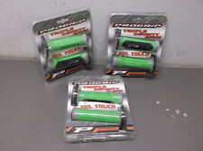 Lot of 3 ProGrip Black, Green & Gray 791 Triple Density MX Grips - $40 NEW!!!