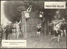 78 POISSY CHAMPIONNAT DES DEBROUILLARDS EDITIONS PRESTINE-VELOX  PHOTO IMPRIMEE