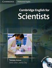 Cambridge Professional ENGLISH FOR SCIENTISTS Student's Book with Audio CDs @NEW