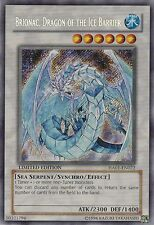 YUGIOH  BRIONAC  DRAGON  OF  THE ICE  BARRIER - LIMITED  EDITION    MINT