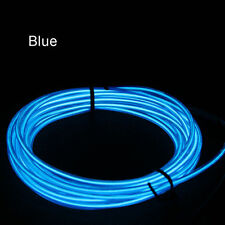 1M 3.3ft 2.3mm Blue EL Wire Highlight w Controller Neon Flexible Christmas Party