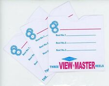 SAWYERS View-Master 3Reel envelopes/sleeves -High quality-25 pack- Replacements
