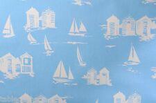 """2.6 m/102 """"casetas de playa Azul PVC fácil de limpiar Hule cuadro Protector De Mantel Co"""