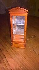 Maison de poupées miniature meubles en bois chine affichage curio cabinet