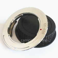 EMF Confirm Adapter for Contax Yashica CY Lens to Canon EOS EF 450D 550D + CAP