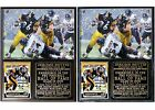 Jerome Bettis Pro Football Hall of Fame Pittsburgh Steelers Photo Card Plaque