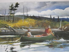BACK COUNTRY FLY FISHING   PRINT BY CHET RENESON