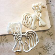 My Little Pony Twilight Sparkle Cookie Cutter - Fondant Cake Cupcake Topper MLP