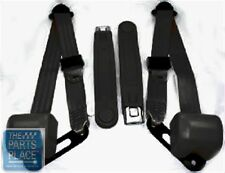 1978-87 Chevrolet El Camino Retractable OE Style Bucket Seat Belts - Black