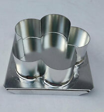SCALLOP FLOATING CANDLE MOLD METAL CANDLES NEW