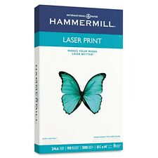 "Hammermill Legal Laser Print Paper 24lb 98 Bright, 8-1/2 x 14"" - Ream 500 Sheets"