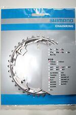 Hoja de cadenas Shimano SLX fc-m660 36 dientes 3 x 9 plata nuevo