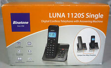 Binatone Luna 1120S Cordless Home DECT Phone Telephone Answering Machine