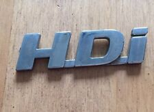 "PEUGEOT 307 406 ""HDI"" rear/side badge logo emblem"