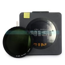 NiSi 77mm Ultra Slim ND4-500 Fader Neutral Density Variable ND Lens Filter