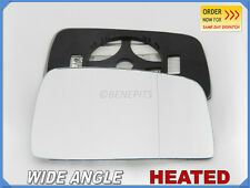 Wing Mirror Glass KIA SPORTAGE II 2005-2007 Wide Angle HEATED Right Side #JK013