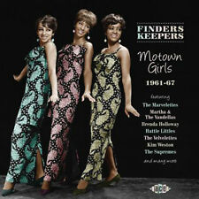 "FINDERS KEEPERS  ""MOTOWN GIRLS 1961-1967""   24 TRACKS INCL. 12 UNISSUED MASTERS"