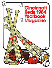 1984 Cincinnati Reds MLB Baseball Yearbook MAGAZINE