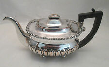 Un bien viejo Sheffield Plateado Tea Pot-c1820